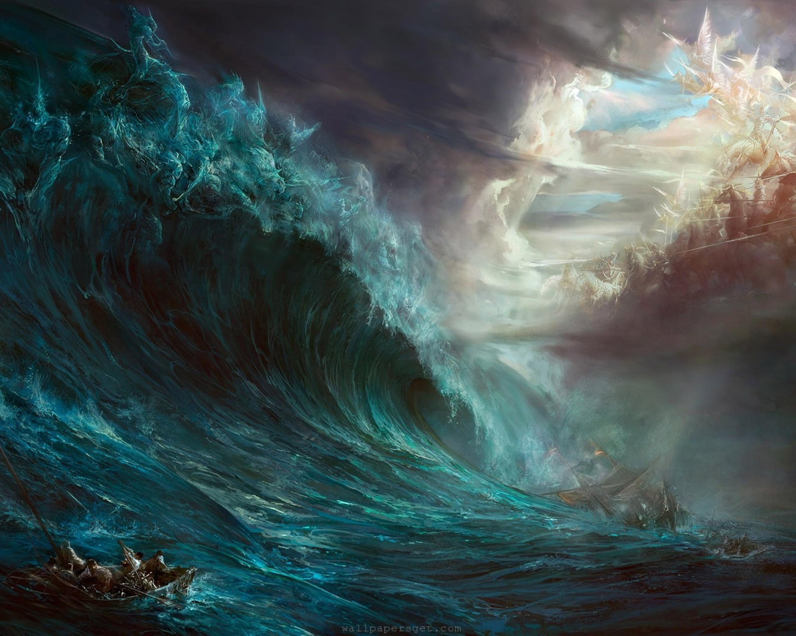 Amazing Wallpaper Horse Ocean - anime-backgrounds-battle-administration-waves-sandbox-2048x2560  Pictures_208459.jpg