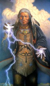shaman-controlling-energy